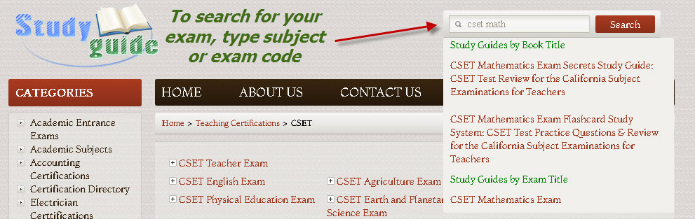 CSET Practice Test - 7 CSET Study Guide Tips To Pass ...